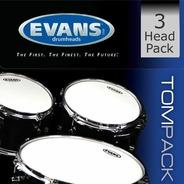 Evans G2 Clear Tom Pack