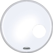 Evans EQ3 Resonant Coated White Bass Drum Head