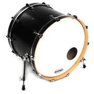 Evans EQ3 Resonant Coated White Bass Drum Head