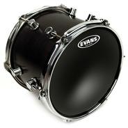 Evans Black Chrome Drum Head