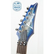 Ibanez Premium RG1070PBZ Electric Guitar - Cerulean Blue Burst