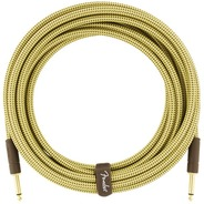 Fender Deluxe Series 10ft Instrument Cable - Tweed