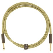 Fender Deluxe Series 5ft Instrument Cable - Tweed