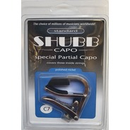 Shubb C7 Partial Capo - Banjo Nickel