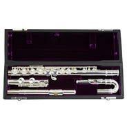 Trevor James 10X Flute Outfit with Curved and Straight Heads CS Shaped Lip
