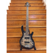 SECONDHAND CORT Action V Deluxe 5 String Bass - Dark Burst