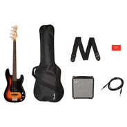 Squier Affinity Precision PJ Bass Package